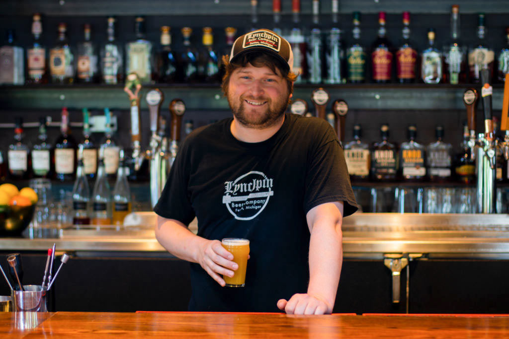 Scott Hayes, Head brewer at Lynchpin Beer Company